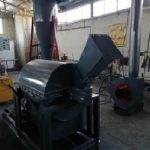 Compressed charcoal production line from cellulose waste and sugarcane bagasse